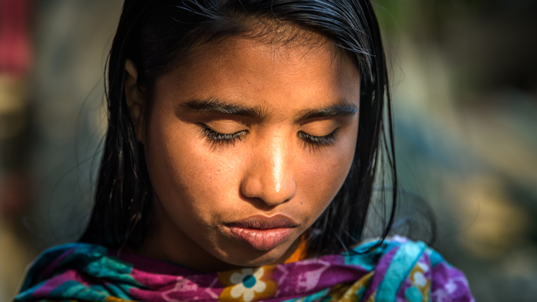 Madhumala, 15, wants to become a lawyer. Her mother, Shabitri, was married at just 11.