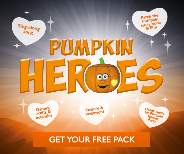 Pumpkin Heroes - get your free pack
