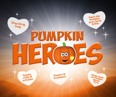 Pumpkin Heroes - Patch the pumpkin