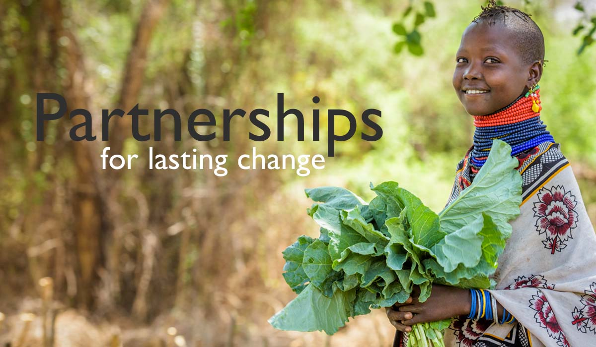 Our Work - Partnerships for lasting change