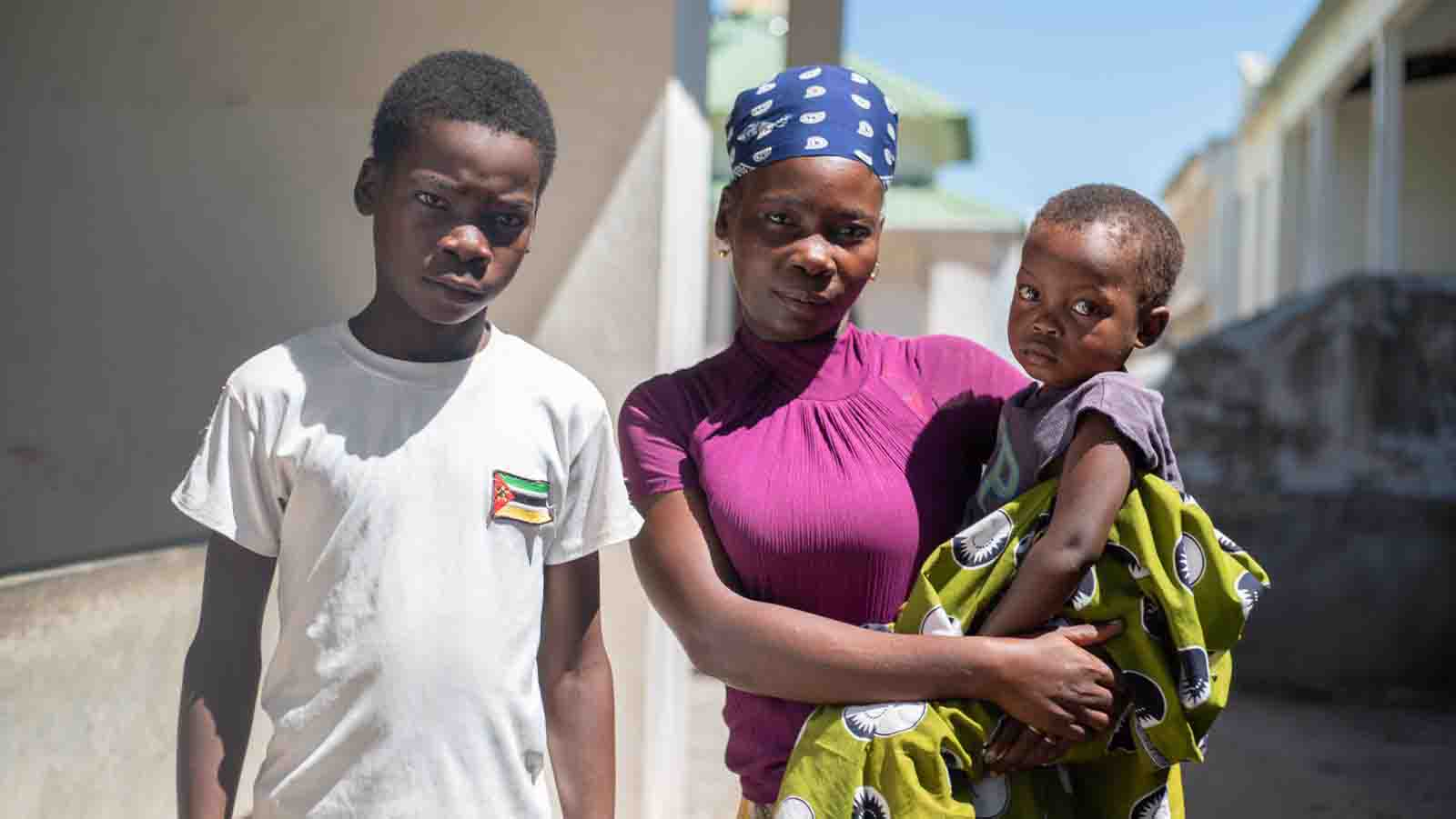 Cyclone Idai tears through Mozambique: Adolino's Story