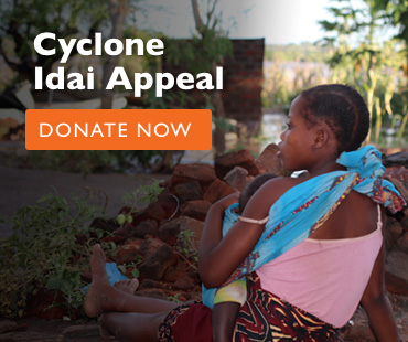 Donate to our Cyclone Idai Appeal