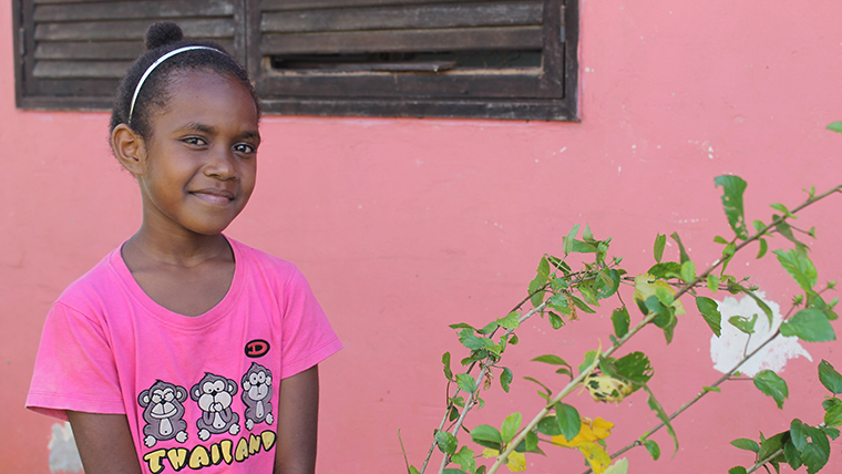 Cyclone Pam through a child's eyes