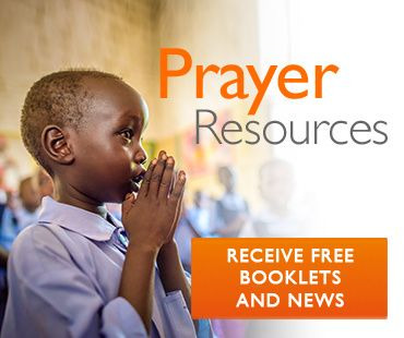 Prayer resources - sign up now