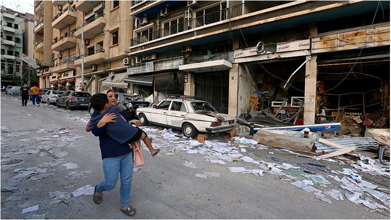 Beirut's children describe deadly blast