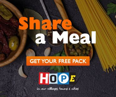 Share a Meal - get your free pack now