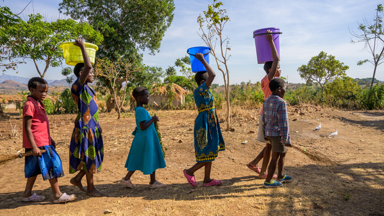 This youth group in Malawi can collect water close to home now