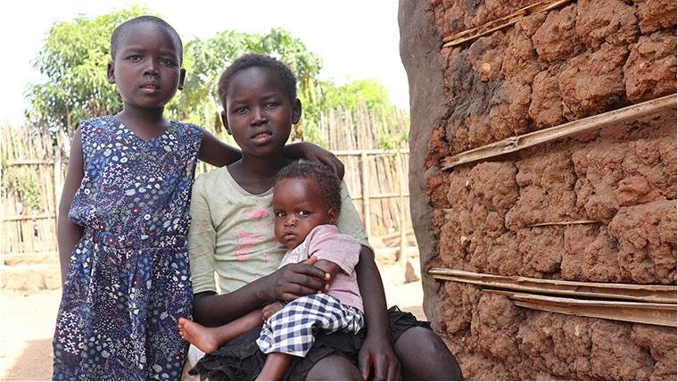 South Sudan's children face combined risks: poverty, malnutrition and COVID-19