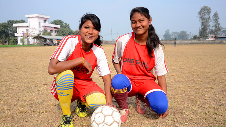 Breaking the rules | Improving nutrition and encouraging girls into sport in Nepal