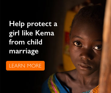 Help protect a girl like Kema from child marriage.