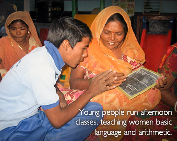 <small>Jeevan Asha - Hope for Life in the Rajnut community in India</small>