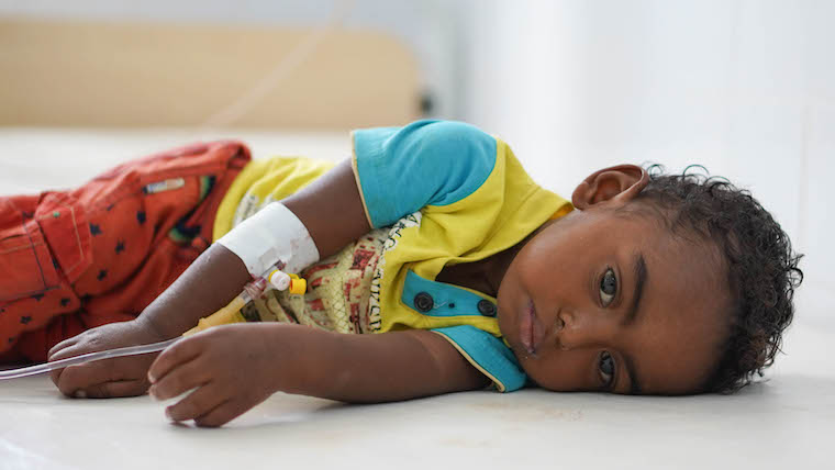 World Vision joins 13 aid agencies to urge global leaders: 'The people of Yemen cannot wait'