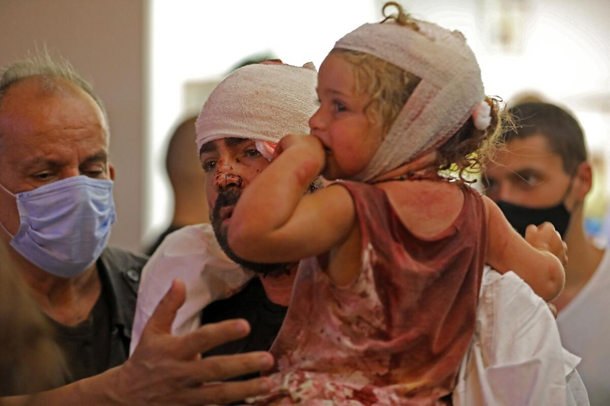 Grave fears for vulnerable children caught up in Beirut explosion