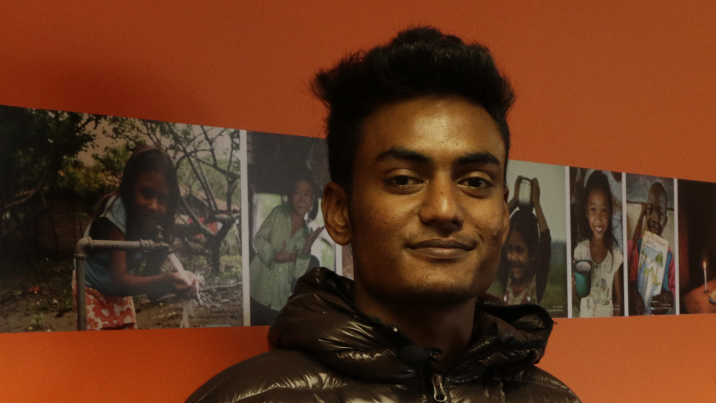 Al-Amin, 19, is a World Vision Young Leader from Bangladesh