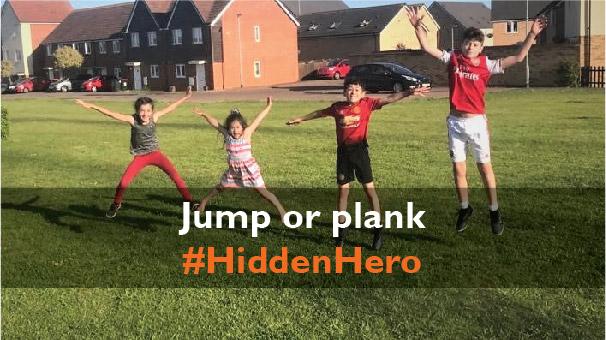 Jump or plank