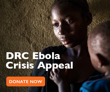 Donate to our DRC Ebola Crisis Appeal