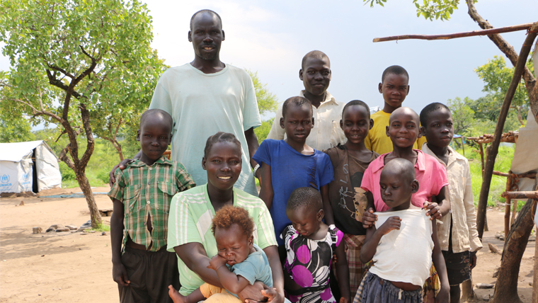 New family, new hope: how South Sudan's refugee children are looking to the future