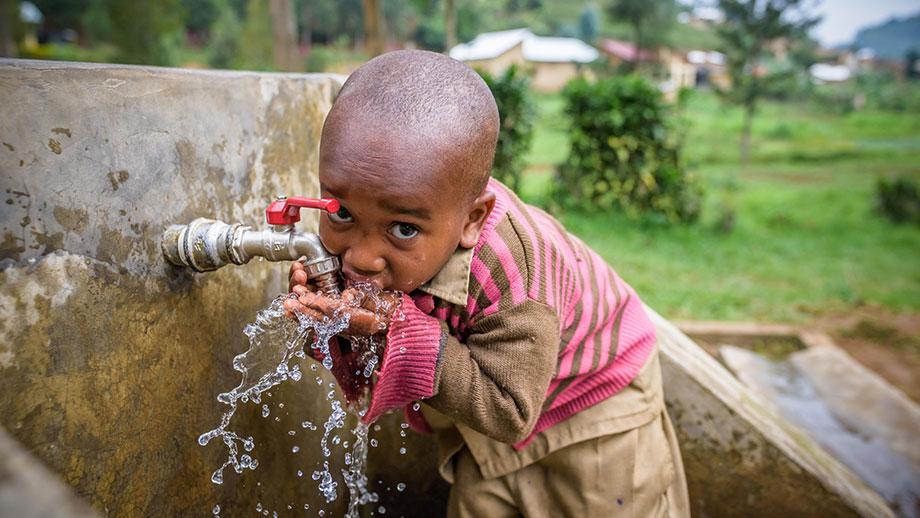 Charity gifts - 5-year-old Shaka in Rwanda