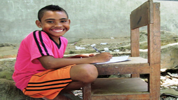 World Vision UK encourages children to think of corresponding with sponsors as storytelling rather than letter writing