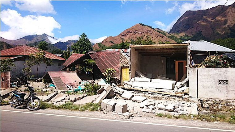 A powerful 7-magnitude earthquake struck Indonesia's Lombok Island on Sunday, killing 91 people and displacing thousands.