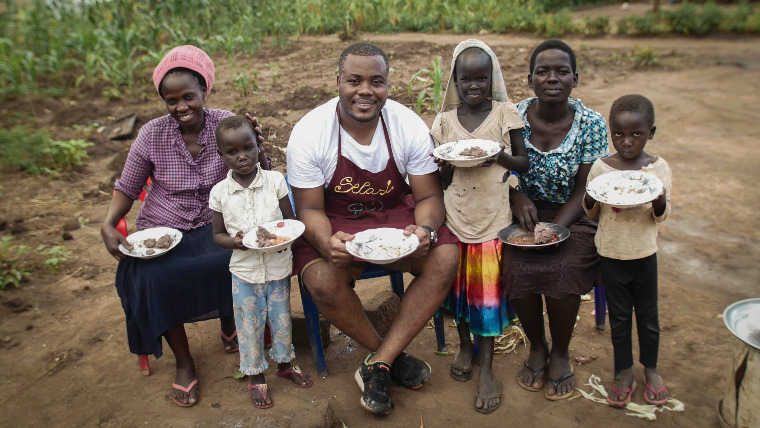 GBBO star Selasi launches Share A Meal for World Vision UK