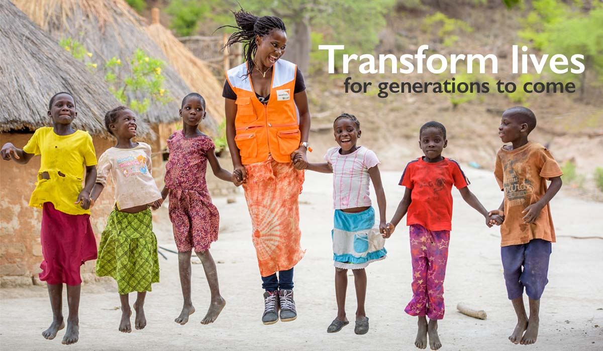 Why partner with us - transform lives for years to come