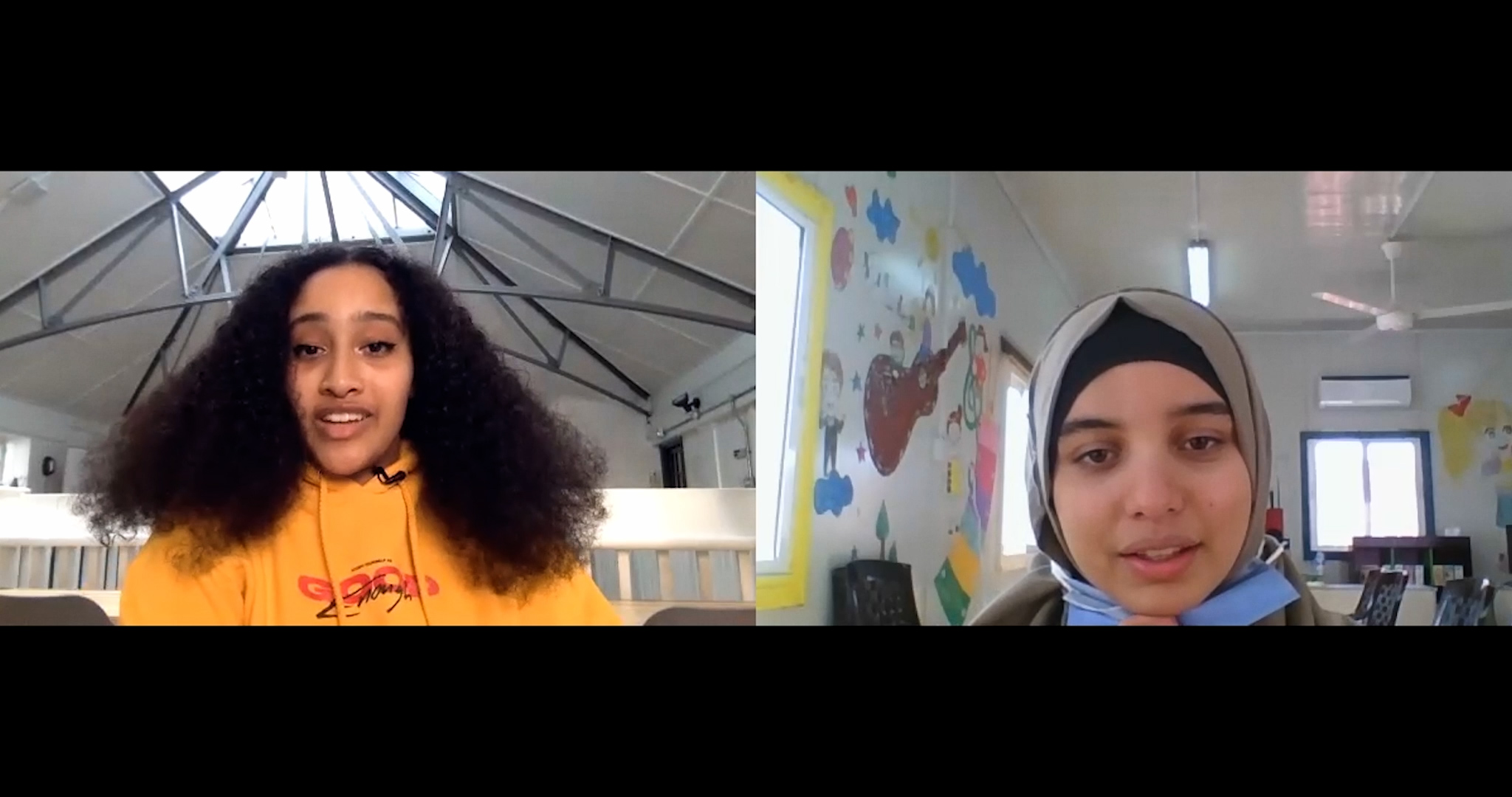 Hillsong UK youth & teenage Syrian refugee discuss their past and hopes for the future