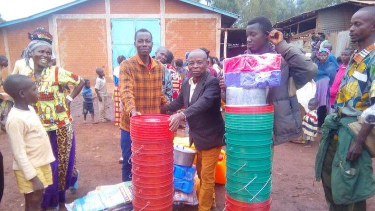 DRC refugees in Burundi