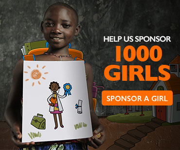 Help us sponsor 1000 girls by international day of the girl