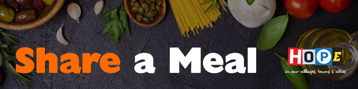 Share a Meal food banner