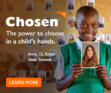 Chosen™, child sponsorship