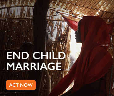 End child marriage - act now