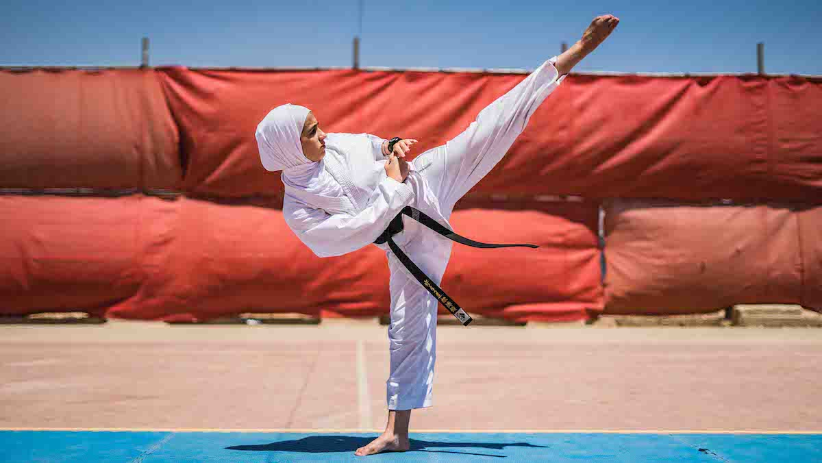 World Humanitarian Day: Karate champion empowers Syrian refugee girls in Jordan