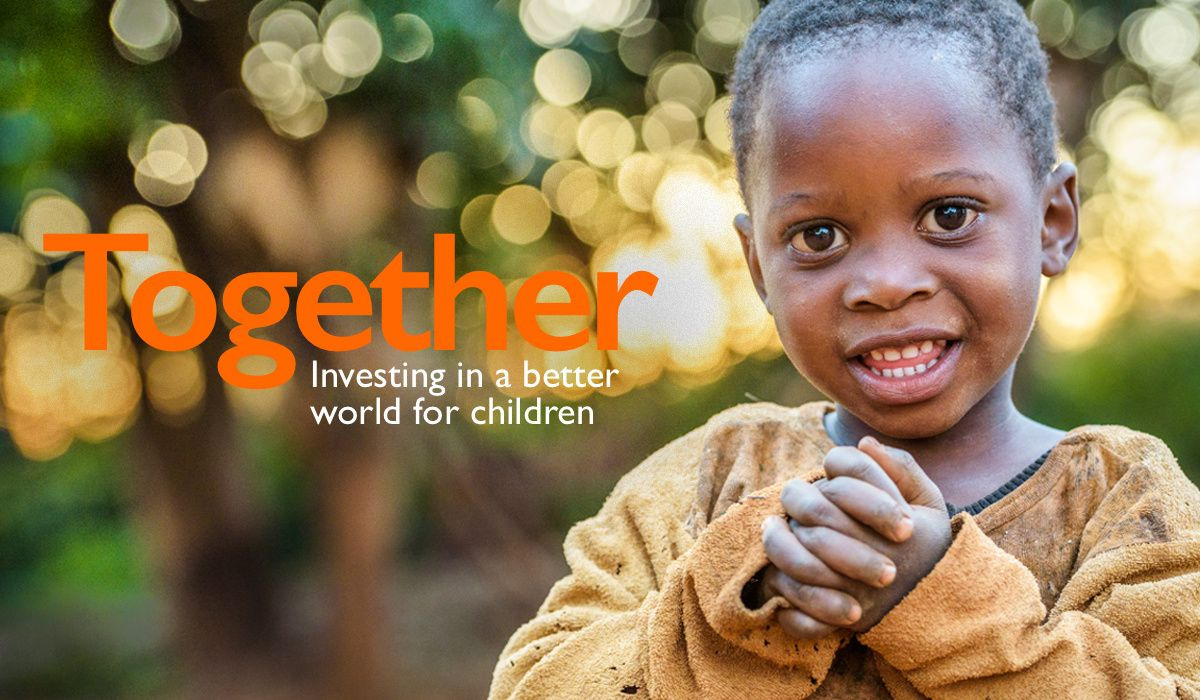 Together investing in a better world for children.