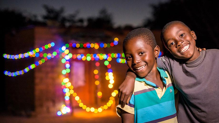 Christmas charity - Sponsored child Chansa, Zambia