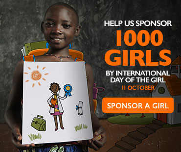 Help us sponsor 1000 girls by international day of the girl