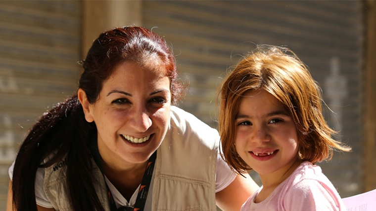 World Vision Commuicator, Patricia Mouamar, reports on the dangers facing many refugee girls fleeing conflict zones, and reflects on her own experiences growing up in 1980s Lebanon. She meets some of the Syrian refugee girls, whose lives were being stunted by early marriage and child labour.