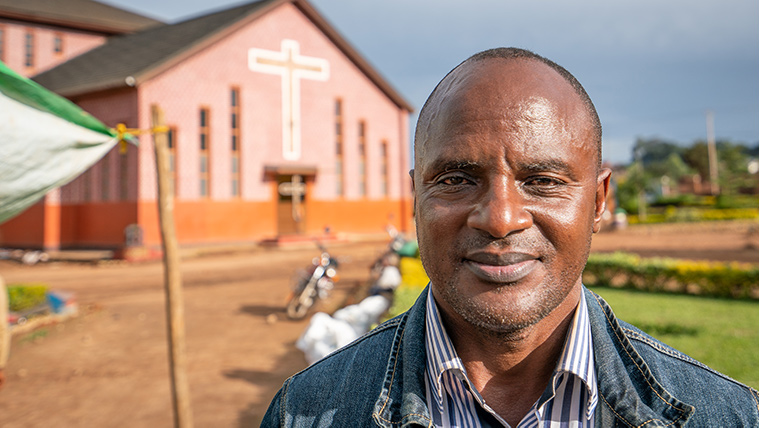 Theresa's local pastor, Sam*, had joined World Vision's Channels of Hope programme.