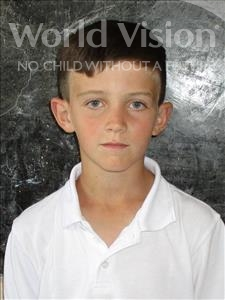 Choose a child to sponsor, like this little boy from Shkodra, Elton age 9