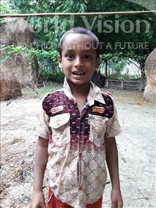 Choose a child to sponsor, like this little boy from Ghoraghat, Reajul Sifat age 7