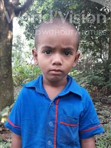Choose a child to sponsor, like this little boy from Ghoraghat, Ibrahim age 4