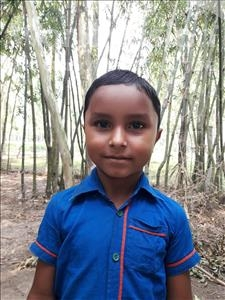 Choose a child to sponsor, like this little boy from Ghoraghat, Rifat age 6