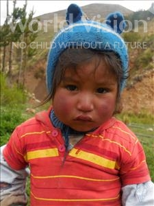 Choose a child to sponsor, like this little boy from Mosoj P'unchay, Evangelino age 2