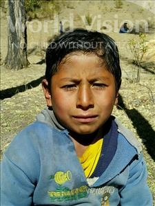 Choose a child to sponsor, like this little boy from Khantati, Rolando age 7