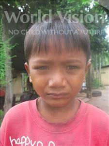 Choose a child to sponsor, like this little boy from Soutr Nikom, Ratana age 6