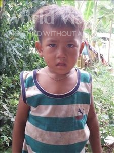 Choose a child to sponsor, like this little boy from Soutr Nikom, Bunsong age 3