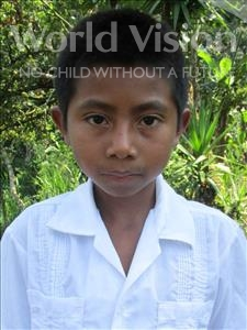 Choose a child to sponsor, like this little boy from Maya, Gerson Esau age 11