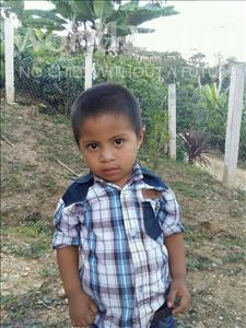 Choose a child to sponsor, like this little boy from Maya, Walter David age 3