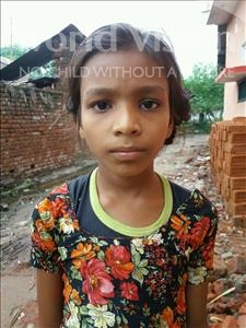 Choose a child to sponsor, like this little girl from Bhojpur, Soni age 8