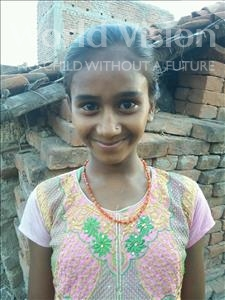 Choose a child to sponsor, like this little girl from Bhojpur, Putul age 12